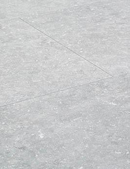Revêtement minéral composite CERAMIN TILES SJ, pierre bleue claire, dalle 39,2 x 78 cm