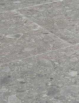Revêtement minéral composite CERAMIN TILES SJ, terrazzo minéral, dalle 39,2 x 78 cm