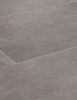 Revêtement minéral composite CERAMIN TILES SJ, béton moka, dalle 39,2 x 118 cm