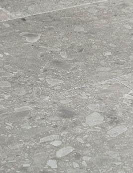 Revêtement minéral composite CERAMIN TILES SJ, terrazzo minéral, dalle 39,2 x 118 cm