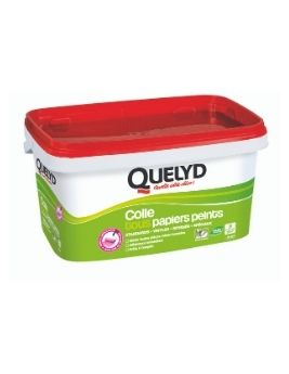 Colle Quelyd PREMIUM prête à l'emploi pour papiers peints, 5 kg