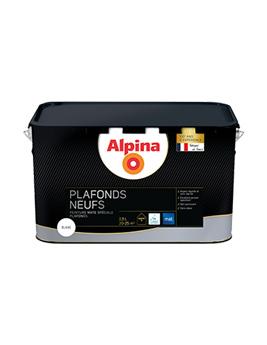 Peinture ALPINA Premium Plafonds Neufs, blanc