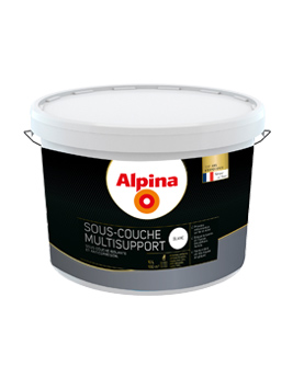Peinture ALPINA Premium Sous-Couche Multisupport, blanc