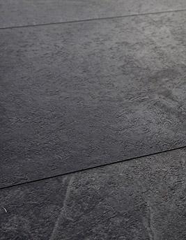 Sol vinyle LIVYN² + CLIC DALLE, ardoise noire, dalle 32 x 130 cm