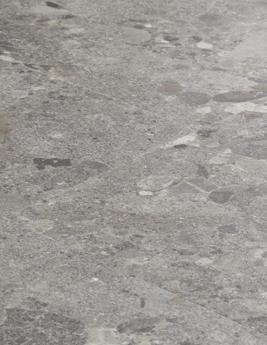 Sol vinyle PURE DALLE, aspect terrazzo gris, dalle 61,2 x 61,2 cm