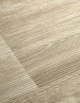 Sol vinyle TEXLINE, chêne lame large blanc, rouleau 2 m