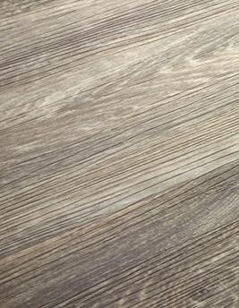 Sol vinyle TEXLINE, chêne lame large gris, rouleau 2 m