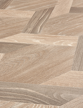 Sol vinyle TEXLINE, aspect assemblage bois naturel, rouleau 2 m