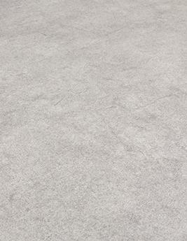 Sol vinyle TEXLINE, aspect béton gris clair, rouleau 2 m