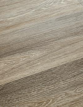 Sol vinyle TEXLINE, aspect chêne marron, rouleau 2 m