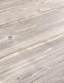 Sol vinyle TEXLINE, aspect bois pin vieilli gris, rouleau 3 m