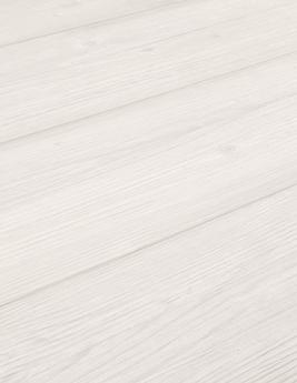 Sol vinyle TEXLINE, aspect bois pin vieilli blanc, rouleau 3 m