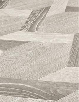 Sol vinyle TEXLINE, aspect assemblage bois gris, rouleau 3 m