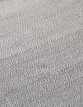 Sol vinyle TEXLINE, chêne cérusé blanc, rouleau 4 m