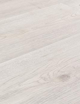 Sol vinyle TEXLINE, aspect grandes lames bois blanc grisé, rouleau 4 m