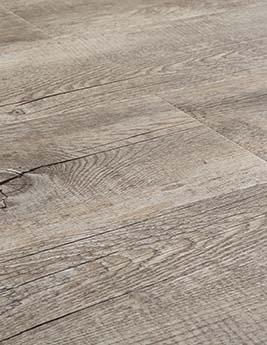 Sol vinyle SENSO ADHESIVE LAME, aspect bois gris foncé, lame 15,2 x 91,4 cm