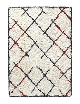 Tapis KARAVANE, motif graphique