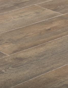 Sol vinyle SPECTRA, aspect chêne brun vieilli, lame 18,9 x 131,7 cm