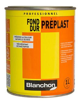 Fond dur Blanchon PREPLAST pour rénovation parquets,1L