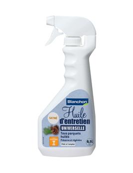 Huile d'Entretien universelle pour parquet huilé, spray 0,5L