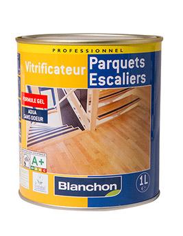 Vitrificateur Blanchon spécial escaliers, finition satinée, 1L