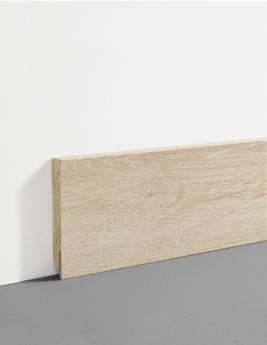 Plinthe Hydro, MDF, décor chêne doré, h.7,8 x L.200 cm