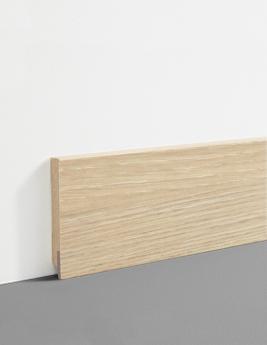 Plinthe Hydro, MDF, décor chêne pur, h.7,8 x L.200 cm