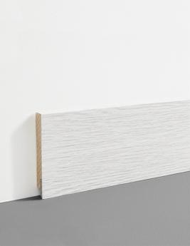 Plinthe Hydro, MDF, décor chêne flocon, h.7,8 x L.200 cm
