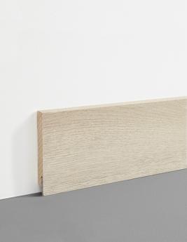 Plinthe Hydro, MDF, décor chêne sable, h.7,8 x L.200 cm