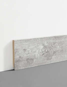 Plinthe Hydro, MDF, décor chêne country, h.7,8 x L.200 cm