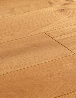 Parquet massif TOUR 150, authentique, chêne marron moyen, verni, larg 15 cm