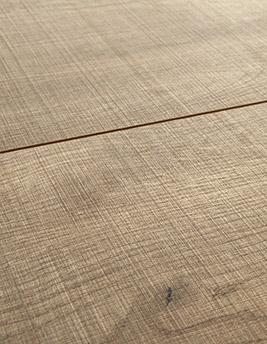 Sol stratifié TRENDTIME 6, chêne scié naturel, lame 24,3 x 220 cm