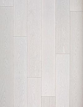 Parquet contrecollé WOODLOFT 190, courant, chêne blanc, verni, larg 19 cm