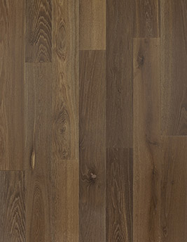 Parquet massif MASSIF 170, courant, chêne marron foncé, huilé, larg 17 cm