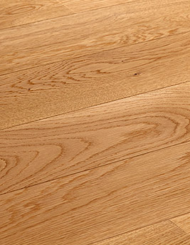 Parquet contrecollé EMPIRE 130, exclusif, chêne marron moyen, verni, larg 13 cm