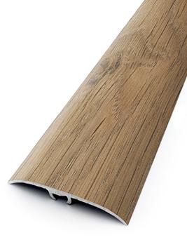 Barre de seuil HARMONY 41, décor aluminium chêne savane, l.4,1 x L.93 cm