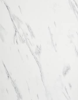 Sol stratifié HERITAGE, aspect marbre blanc, dalle 60,1 x 118,2 cm