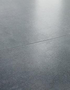 Sol stratifié' OXIDO DALLE, béton gris, dalle 60 x 120 cm