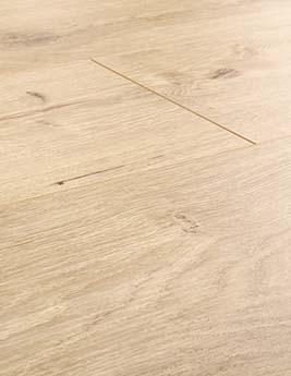 Sol stratifié EASYLIFE LEGEND, aspect chêne naturel, lame 19,4 x 128,6 cm
