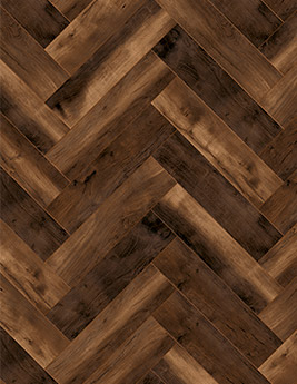 Sol stratifié X WAY, aspect chêne brun, lame 15,7 x 62,8 cm