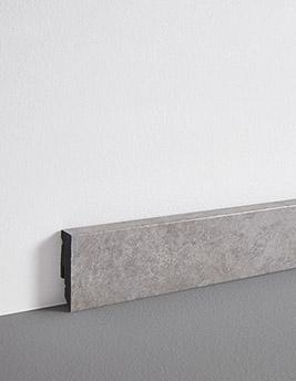 Plinthe, PVC, décor mineral, h.5 x L.240 cm