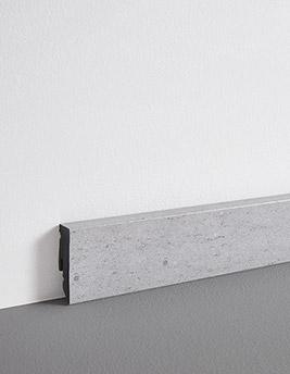 Plinthe, PVC, décor craie, h.5 x L.240 cm