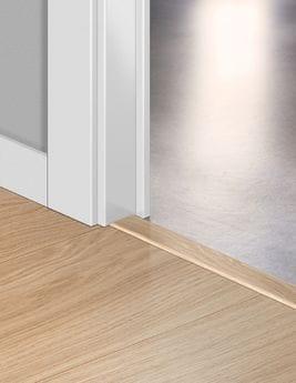Barre de seuil Quick Step INCIZO, HDF, décor chêne blanchi, l.4.8 x L.215 cm